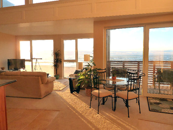 Rockaway Beach front oceanfront vacation rental condo